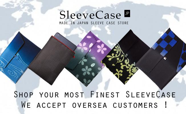 SleeveCaseJPはMade in Japanスリーブケース・ブランドのオンラインショップです。iPad・iPad mini・MacBookPro・Airを中心に、次代を創造する日本の文化発信ブランドをプロデュースいたします。